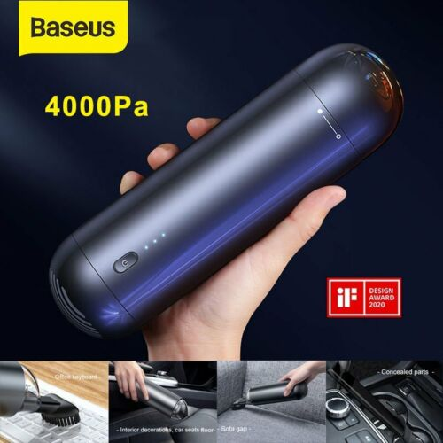 4000pa cordless car vacuum cleaner 65w high