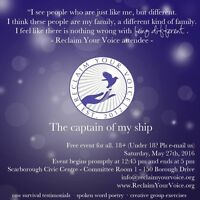 Reclaim Your Voice - The Captain of My Ship