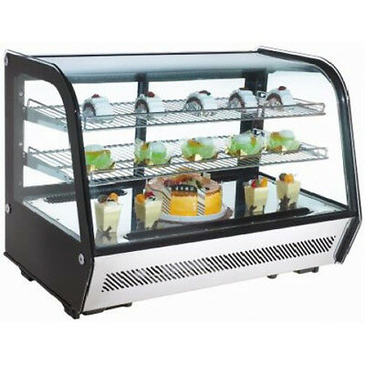 Omcan Rtw160l 35x22.5x27-inch Countertop Refrigerated Showcase Ce