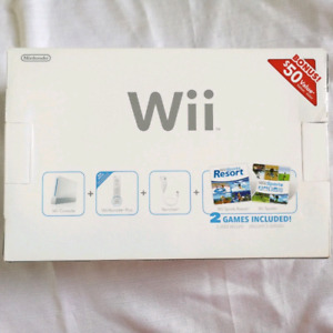 Mint condition wii played once