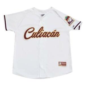 BNWT Tomateros de Culiacan 2017 - 18 WHITE Baseball Jersey New by El Siglo