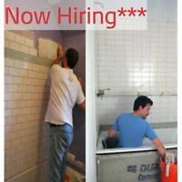 Tiling company looking 4 experienced workers