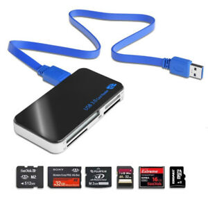 USB 3.0 Memory Card Reader / Lecteur de carte mémoire USB 3,0.