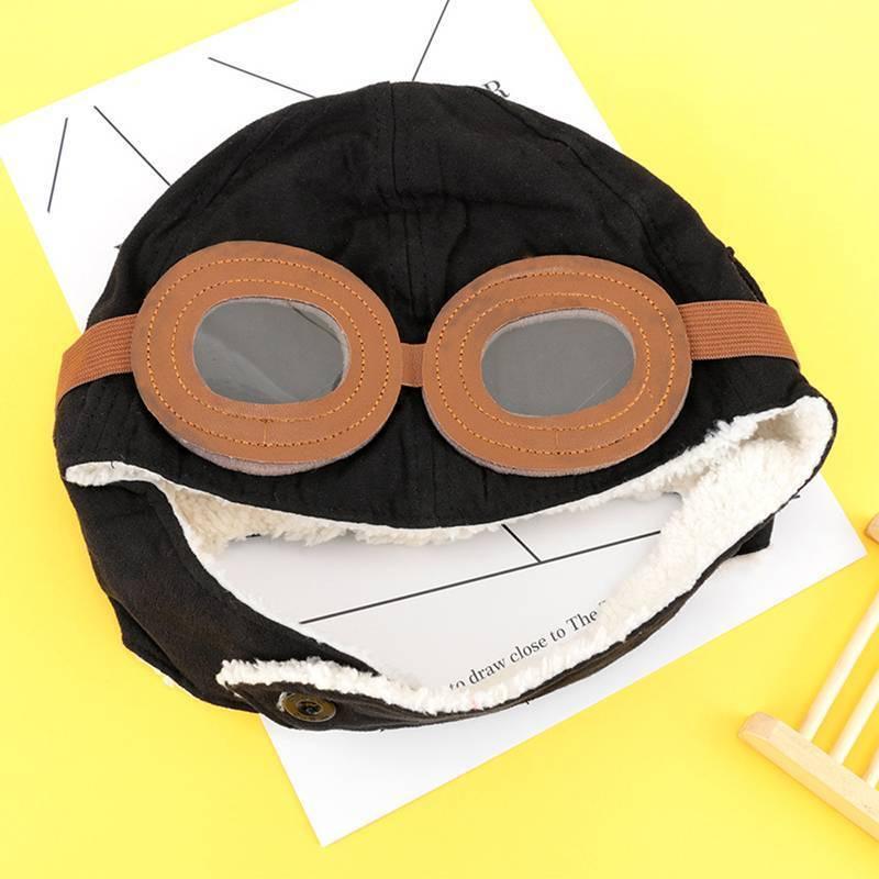 Fashion Baby Kid Winter Earflap Pilot Cap Hat Beanie Bomber Flight Helmer Z