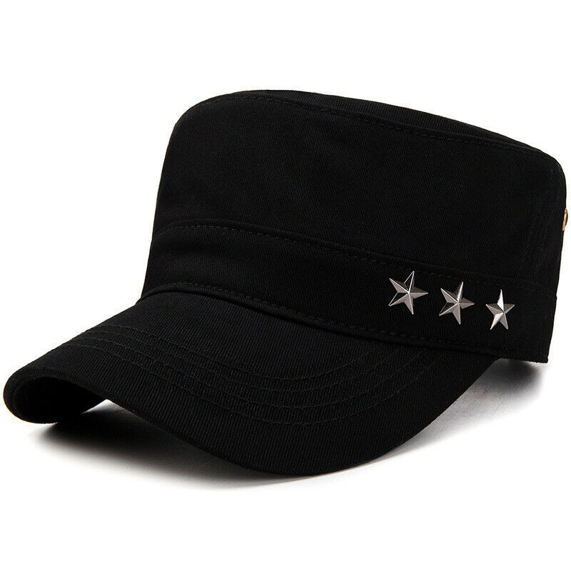 Men Women Army Military Style Cadet Cap Sports Adjustable Fishing Casual Hats Clothing, Shoes & Accessories