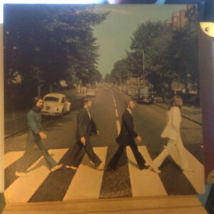 BEATLES - Abbey Road RARE - Lennon doesn't have shoes on!