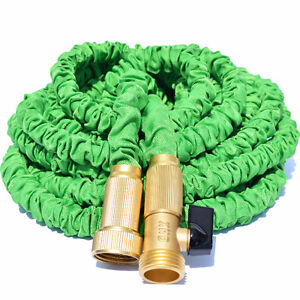 NEW Expandable Yard Hose w/ Brass Connectors 50-feet
