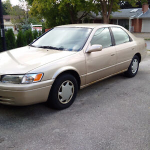 1999 Toyota Camry Sedan One Owner with Low Mileage