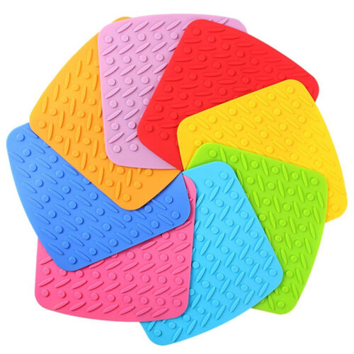 Kitchen Table Pads Tool Silicone Pot Holder Trivet Mat Heat Resistant Hot Trendy