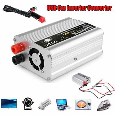 500W / 1000W Power Inverter Convertisseur Onduleur Voiture DC 12V AC 220V...