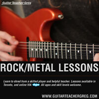 Rock/Metal Guitar Lessons