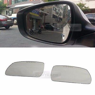 Hyundai Tucson 04-09 mirror glass base heated 876112E220