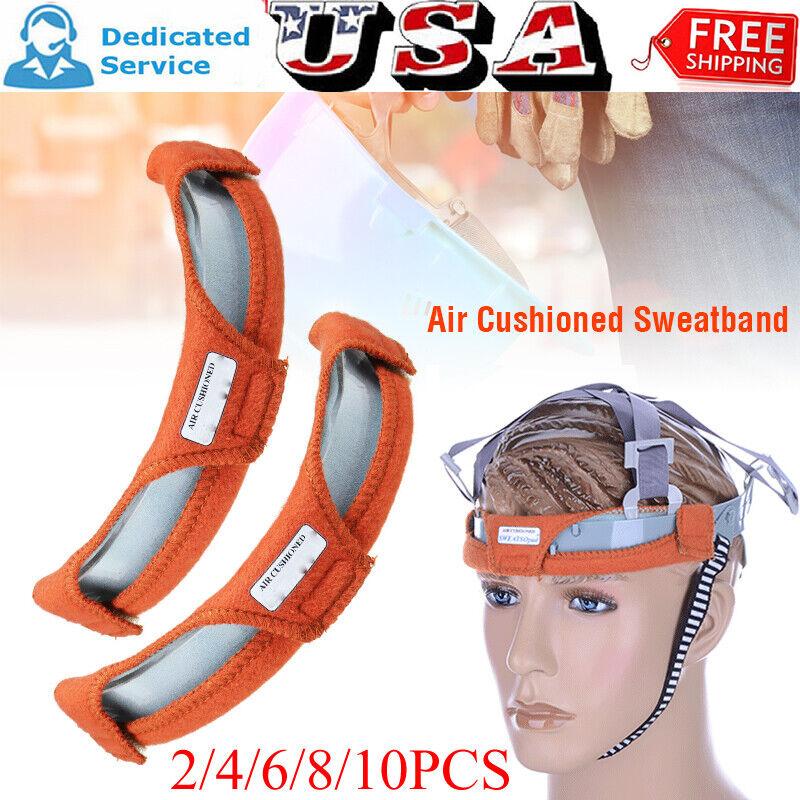 2-6X Welding Helmet Replace Sweatband Sweat Band Hard Hat Air Cushioned Headgear