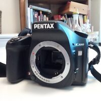 Appareil photo reflex Pentax K200