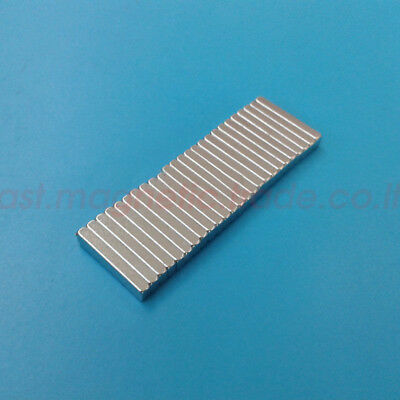 Lots Bar 15mm X 3mm X 2mm Strong Block Magnets Rare Earth Neodymium N50