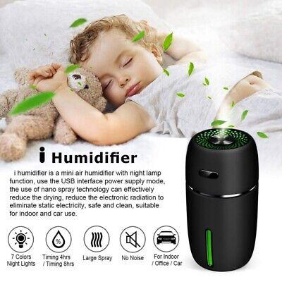 portable mini usb car home humidifier air