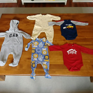 Boys onesies lot 3-6 months