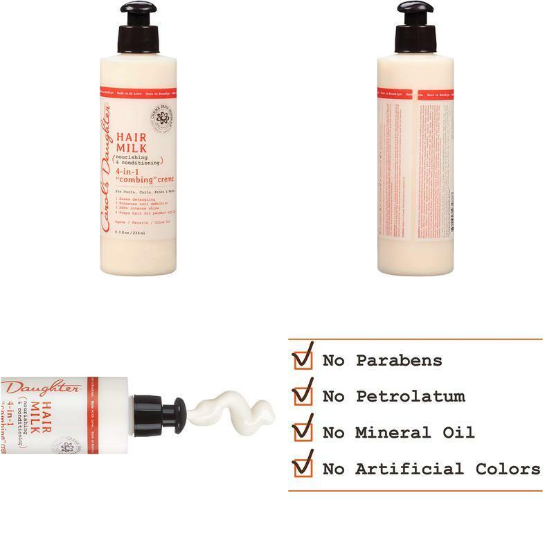 Curly Hair Products By Carol'S Daughter, Hair Milk 4-In-1 Co