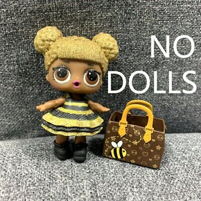 Queen Bee Outfit (L.O.L. QUEEN BEE Original outfit Dress, SHOES, BAG Lol Surprise accessory)