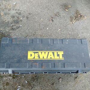 large dewalt plastic tool case