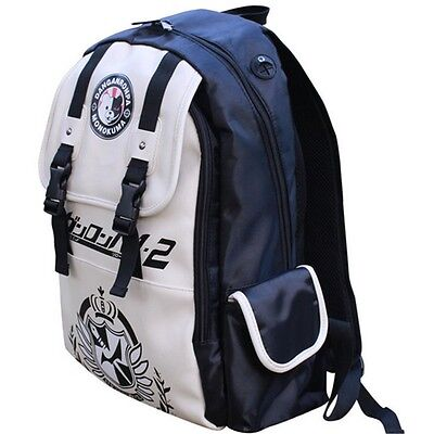 Kids Dangan Ronpa danganronpa Monokuma Anime School Book Backpack Shoulder Bag S