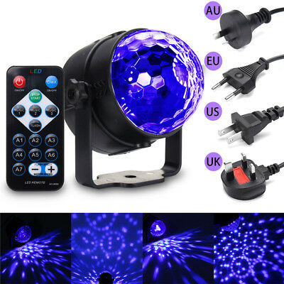 UV Magic Rotating Ball LED Schwarzlicht Bühnenbeleuchtung DJ Disco Club Bar ()