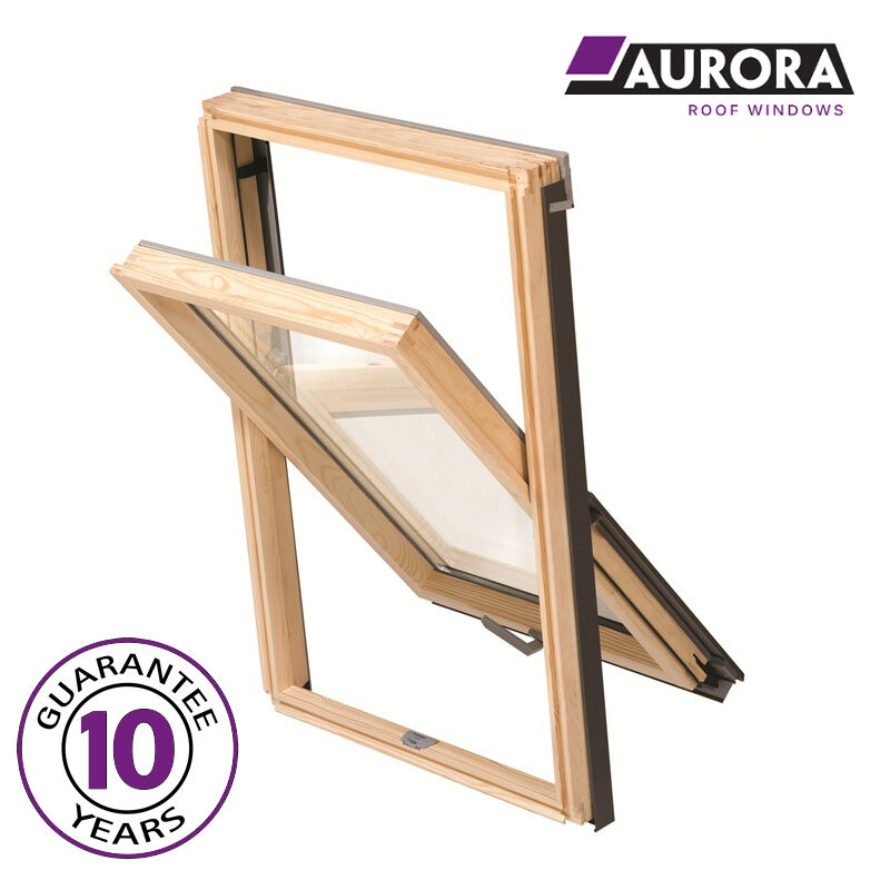Aurora roof windows 55 x 72 cm velux fakro keylite for 12 x 72 window