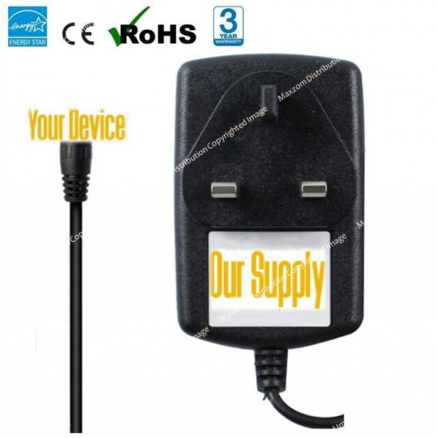 "5V AC-DC Charger Power Supply Adapter for Hannspree HSG1274 9.7"" Tablet/SN97T41W"