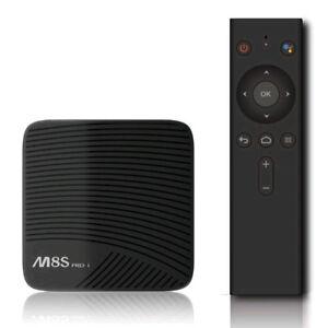 M8S PRO L(3GB RAM/16GB) TV ANDROID BOX W/H9 KEYBOARD&1 MNT IPTV