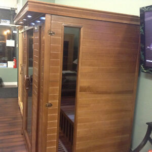 Classic three person sauna far infrared on sale $2799, was $3999 Strathcona County Edmonton Area image 9
