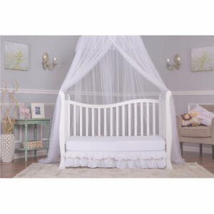 Dream On Me Violet 7 in 1 Convertible Life Style Crib, White Cambridge Kitchener Area image 4