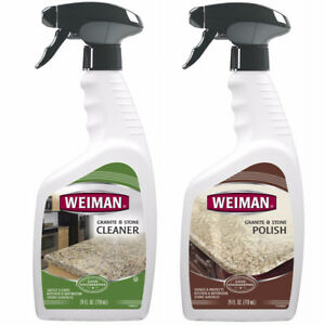 Weiman Granite Cleaner & Polishing Care Set, New
