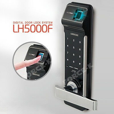 Fingerprint Doorlock LH5000F Keyless Lock Digital Security Entry Password 2Way