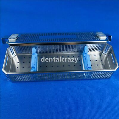 Stainless Steel Endoscope Sterilization Metal Tray Box Case Surgical Instrument