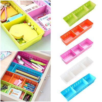 Useful Drawer Organizer Kitchen Home Board Divider Makeup Storage Box Adjustable