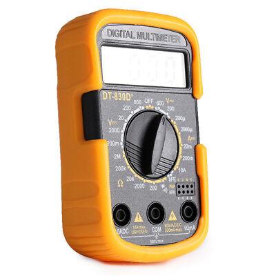 Dt830d Yellow Black Mini Portable Digital Small Multimeter Multimeter