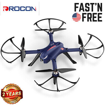 DROCON Bugs 3 Powerful Brushless Motor Support 4K HD Camera Quadcopter LED Drone