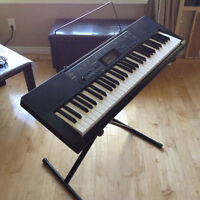 Casio CTK 2300 keyboard with a professional stand ON SALE!