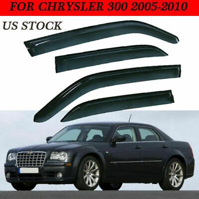 Sunproof Winshield Guard Window Visor for 2005-10 Chrysler 300 Dodge Magnum O9R9