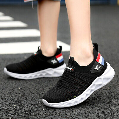 Kids Lightweight Breathable Sneakers Easy Walk Casual Sport Shoes for Boys Girls - Shoes For Girls Sneakers