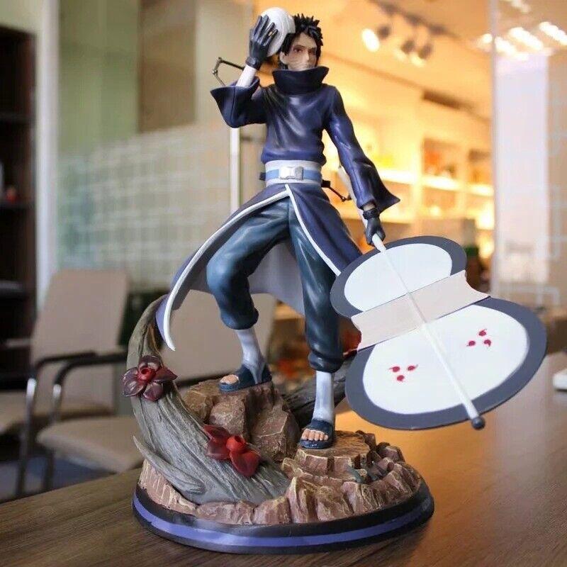 Anime Naruto Akatsuki M.H Studio Uchiha Obito PVC Figure Toy Statue New In Box