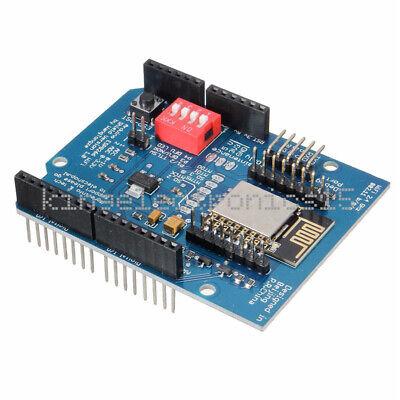 Esp-12e Esp8266 Uart Wifi Wireless Shield Board For Arduino Uno R3