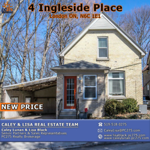 4 Ingleside Place – LOCATION LOCATION LOCATION! ** NEW PRICE **