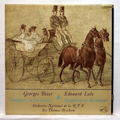 Asdf 607   Sir Thomas Beecham   Lalo   Bizet Symphonies Emi Stereo Lp Ex