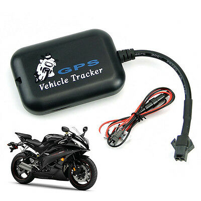 Hot Mini Vehicle Bike Motorcycle GPS/GSM/GPRS Real Time Tracker Tracking Perfect