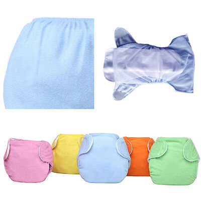 New Baby Nappy Adjustable Diaper Reusable Washable Leakproof Cloth Nappy Diaper
