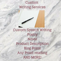 Professional Writing Services!