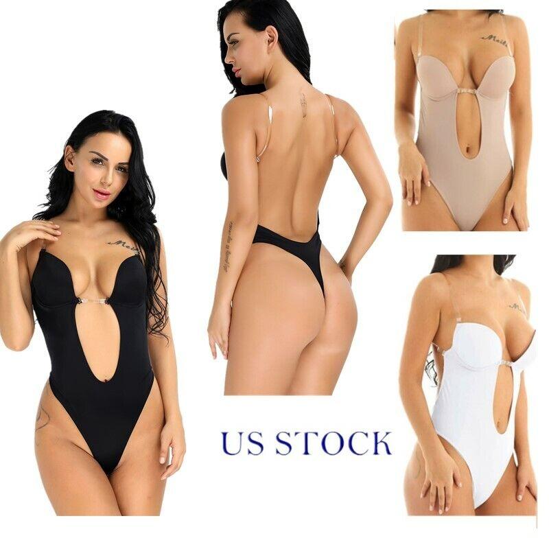 US Men Push Up Cup Pad Enlarge Lingerie Briefs Swimwear Leather C-string Bikini