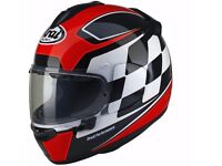 Arai Chaser-X Motorcycle Helmet FINISH (Red) SIZE LARGE BRAND NEW IN BOX