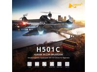 Hubsan x4 h501c brushless motor! quadcopter drone 1080p HD camera GPS altitude hold eadlessm